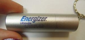 Круглая металлическая флэшка с цветной прямой печатью
