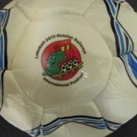 УФ прямая печать на футбольном мяче