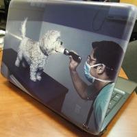 Напечатать на корпус ноутбука свою картинку