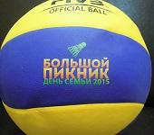 цветная печать на волейбольном мяче