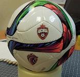 Печать логотипа на мини мяч футбольный