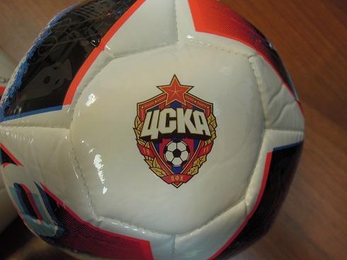 Мяч с цветной прямой печатью